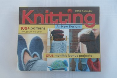 Knitting calendar web