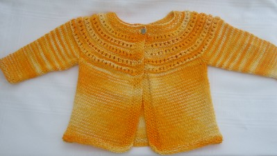 Yellow sweater web