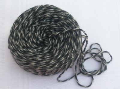 Yarn cake web