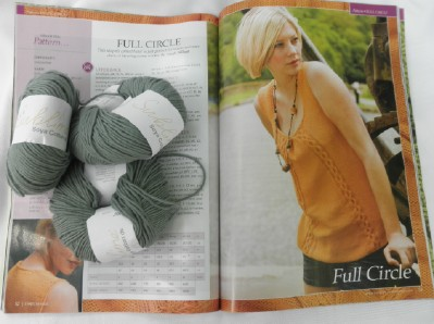 Full circle yarn web