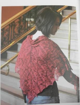 Cleite shawl web