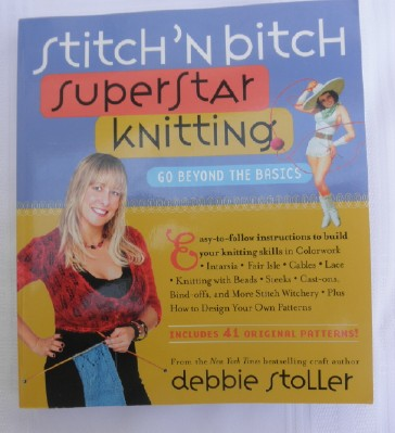 Superstar knitting cover web