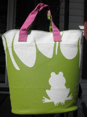Tote frog web