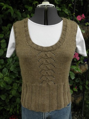 Brown vest web
