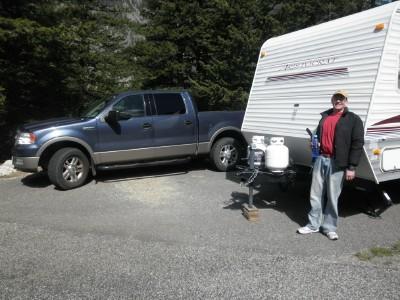 Camping truck camper web
