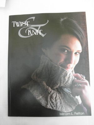 Twist knit cover web