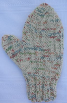 Single mitten web