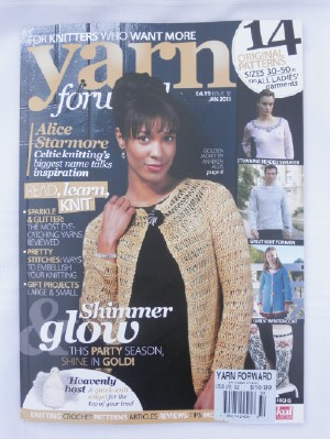 Yarn forward 32 cover web