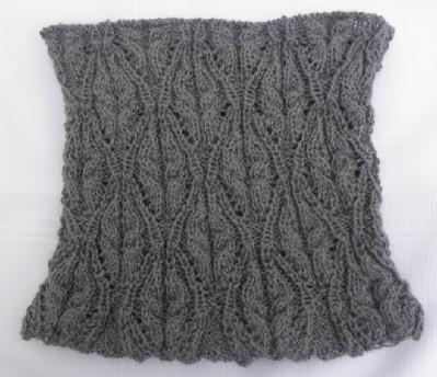 Grey cowl preblocked web