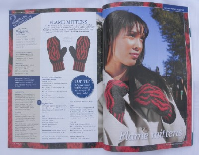 Flame mitten pages web