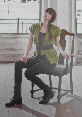 Green vest web