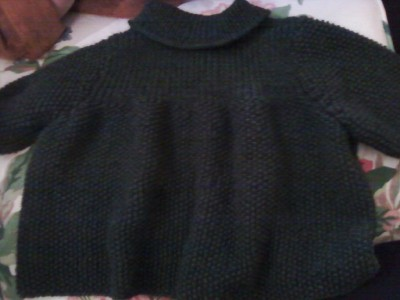 Green sweater web