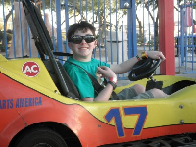 Paul go cart web