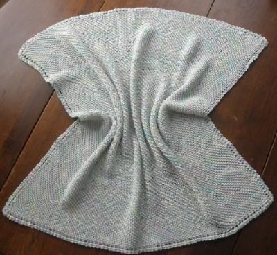 Washcloth blanket web