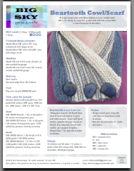Beartooth Cowl Sample Page 1