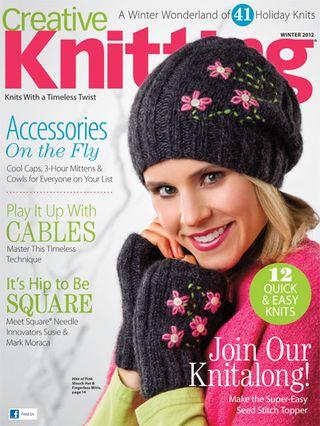 Creative Knitting W12 Cover