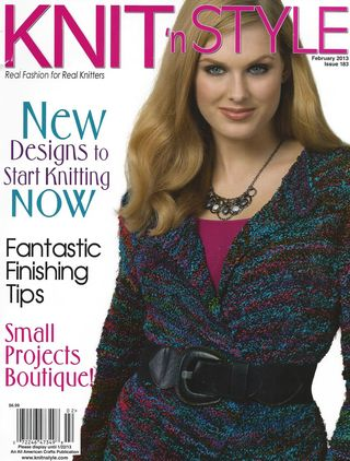 Knit n Style Cover Feb13